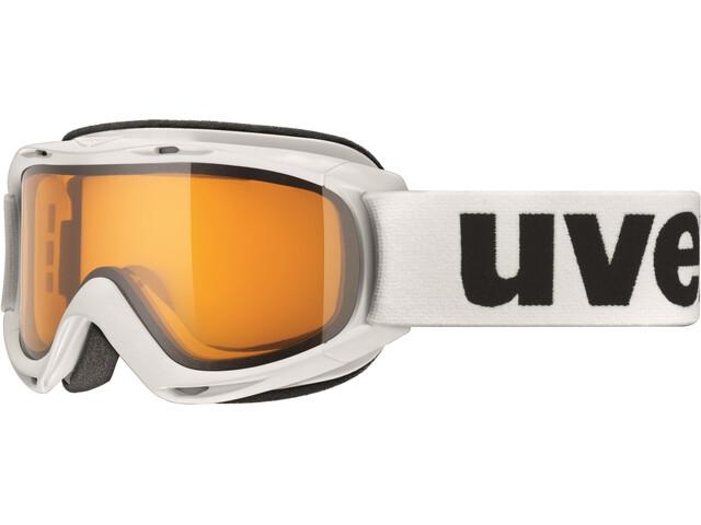 UVEX slider Niños, white/lasergold lite